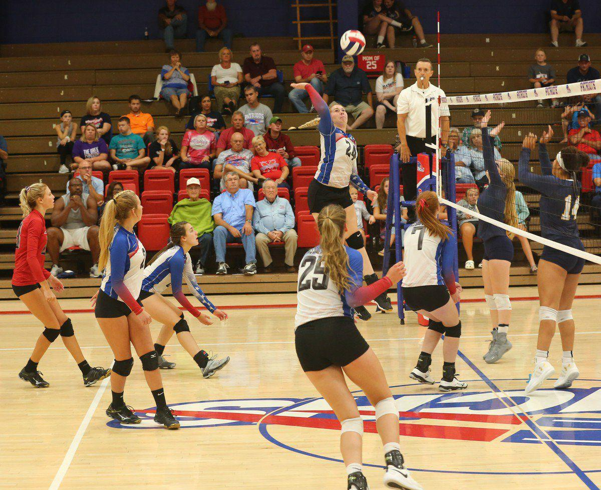 Patriot volleyball serving notice | Sports