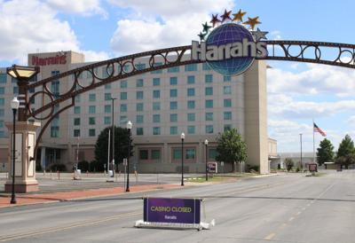 Harrahs closed