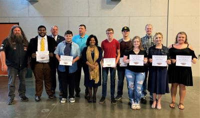 SCC welcomes Black Diamond Harley Davidson scholarship recipients to the Shawnee Saints family