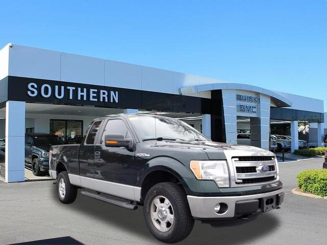 2014 Green Ford F-150