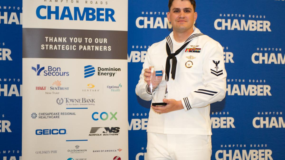 Sailor selected as Military Citizen of the Year