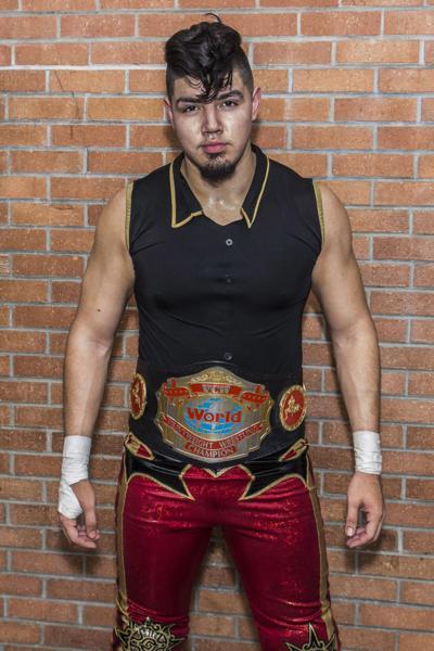 "VCW Heavyweight Champion ""The Latin Heartthrob"" Gino."
