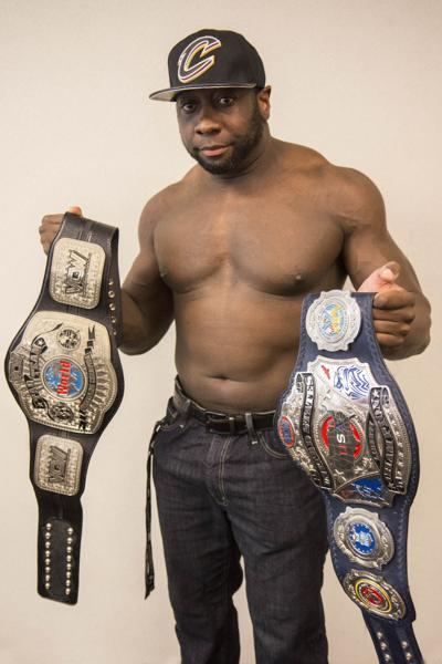 Phil Brown, current VCW Tag Team Champion and VCW United States Liberty Champion.
