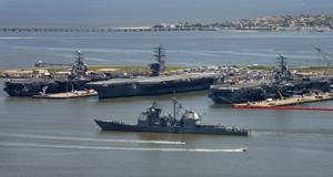 Florida congresswoman to tour Naval Station Norfolk, Port of Virginia to see effects of climate change