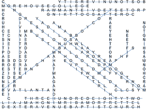 Word Search Answers For Jan 12 2012 Fort Lee Traveller