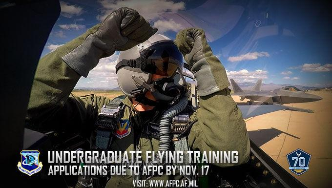 Application window opens for Air Force undergraduate flying training