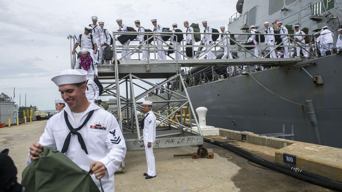 USS Mahan returns from deployment