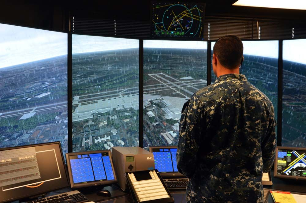Oceana control tower gets upgrade to training facilities