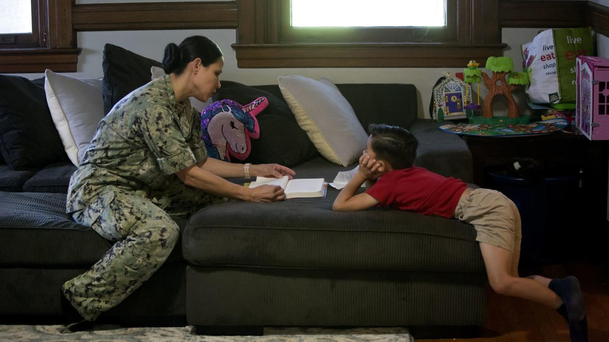 A cultural shift is helping keep talented mothers in the Navy