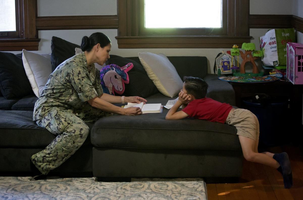 Career intermission program in the Navy.