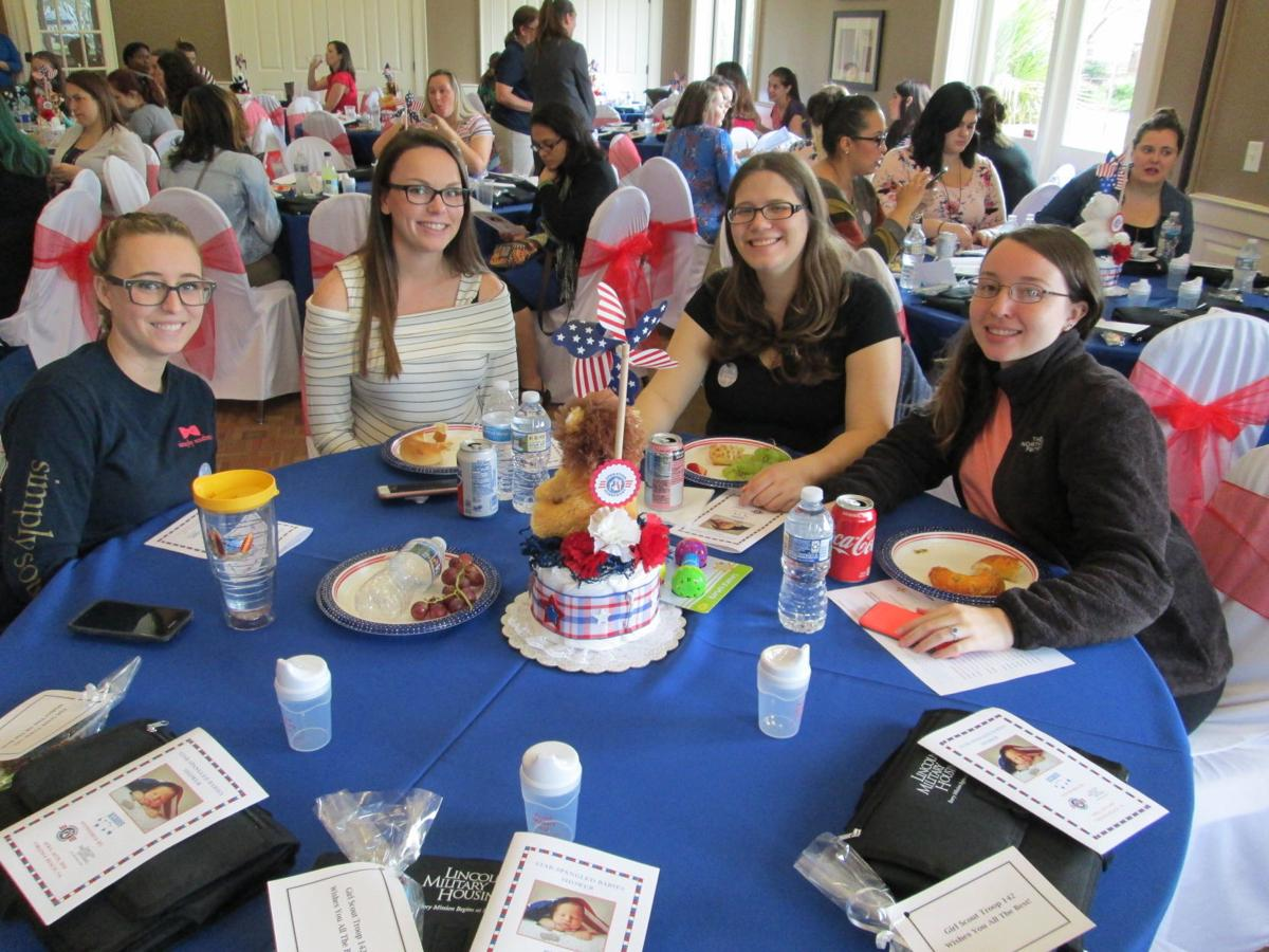 Operation Homefront Star Spangled Babies Shower Lincoln Military