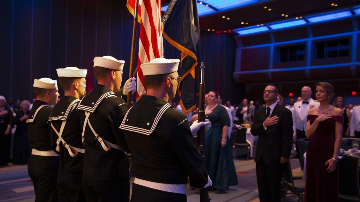 Sailors celebrate 244 years at Navy Ball