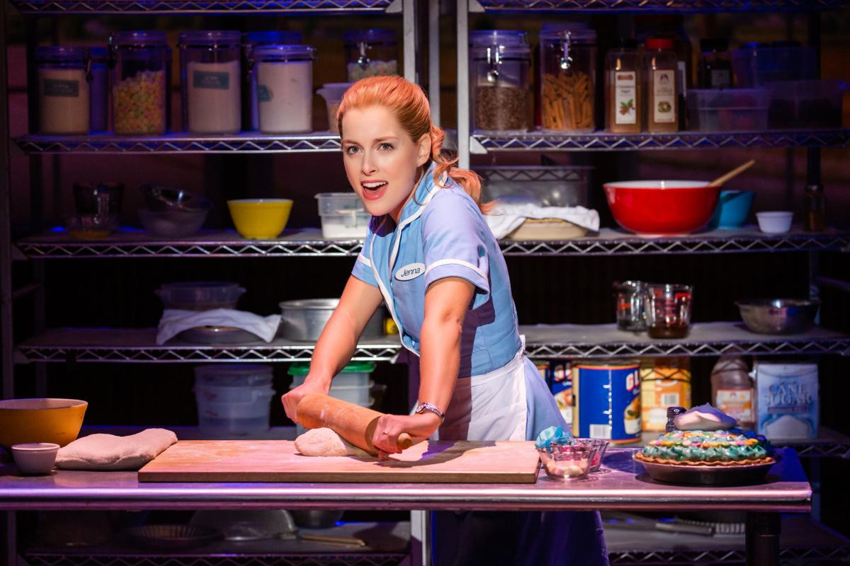 Bailey McCall as Jenna in the National Tour of WAITRESS_Photo credit Jeremy Daniel.JPG