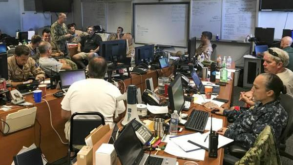 EOC-IMT training prepares NAS Oceana for potential emergencies