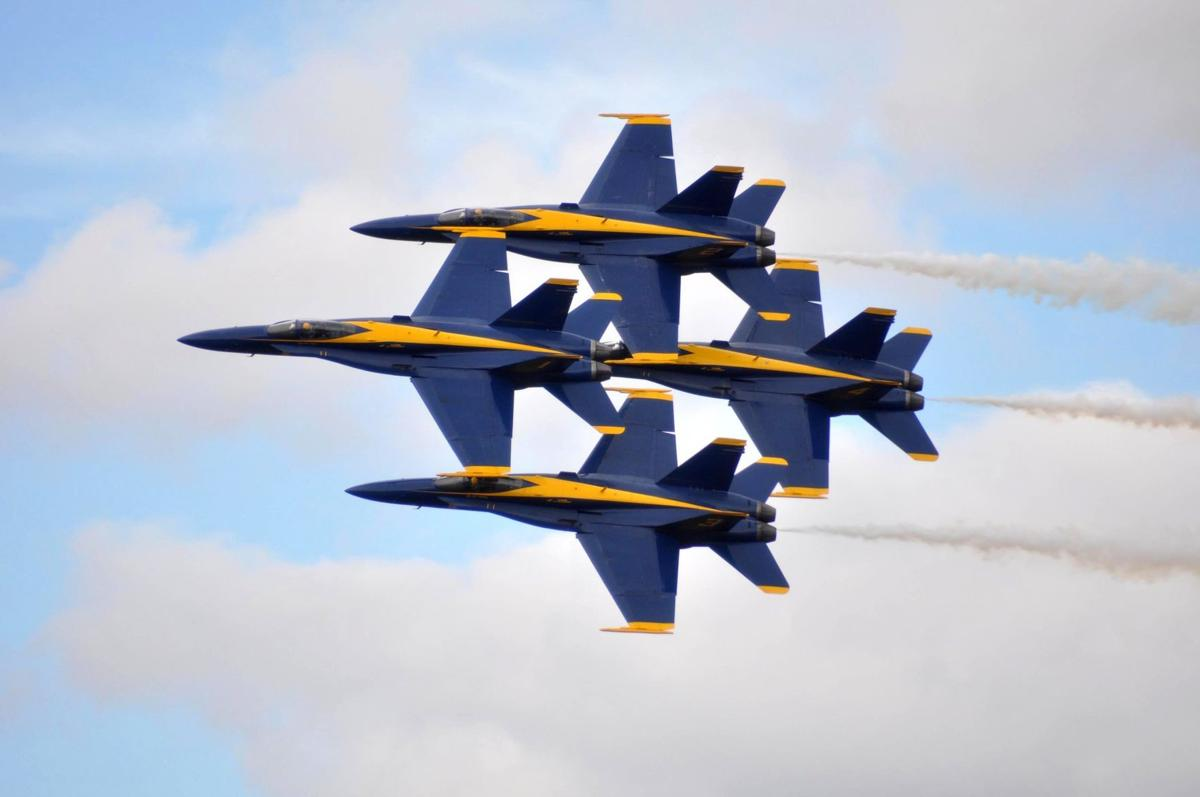 Blue Angels release 2021 schedule of 75th anniversary air ...