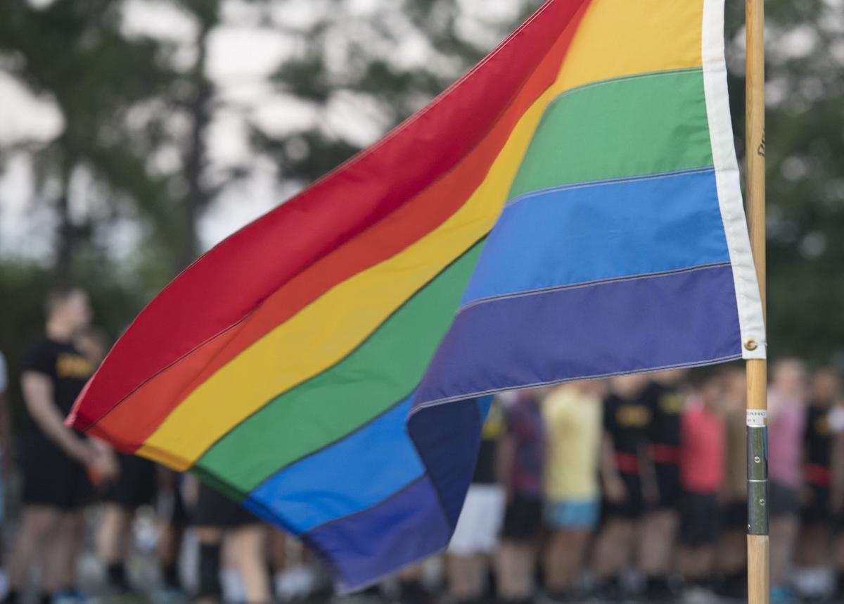 Soldier hosts 1st Pride run at JBLE