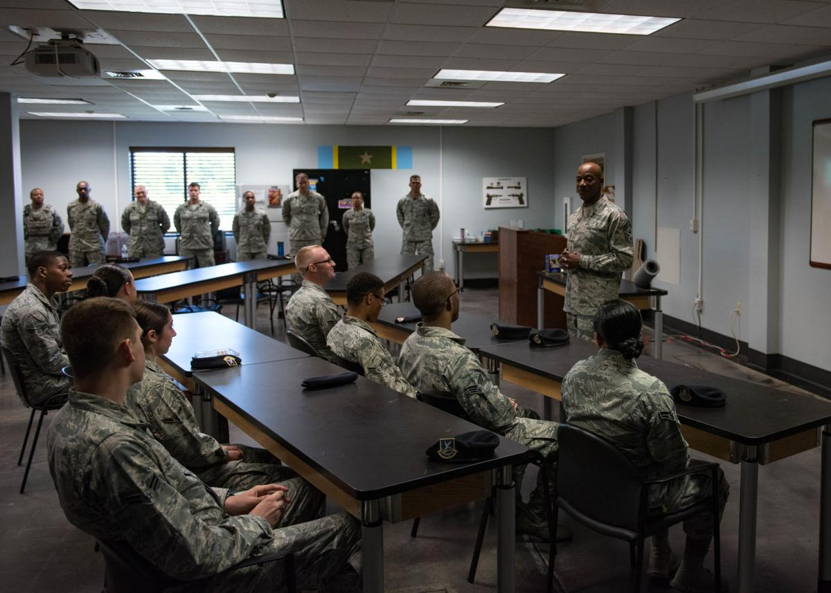 JBLE exemplifies CMSAF initiatives | Air Force News
