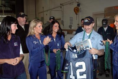 online store 9e017 c5905 Seahawks pay primetime military tribute | Seasonal Sports ...