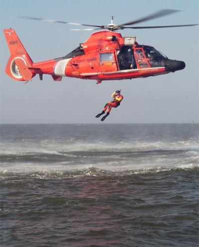 The Making Of The Coast Guard Helicopter Rescue Swimmer