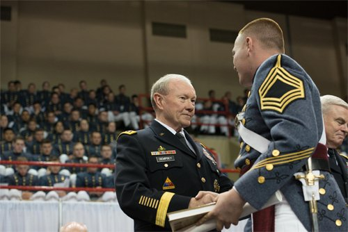 Vmi Calendar May : Dempsey urges vmi grads to 'get at it quarterdeck