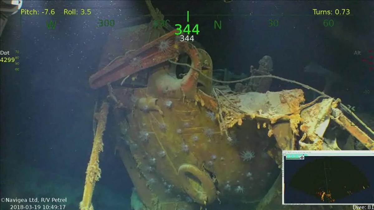 USS Juneau found on St  Patrick's Day 76 years after it was