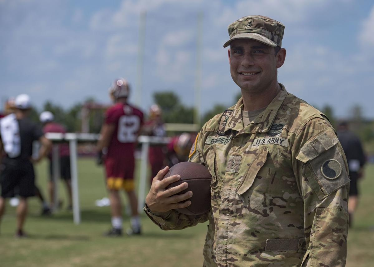 One team, one fight: service members train like the Redskins