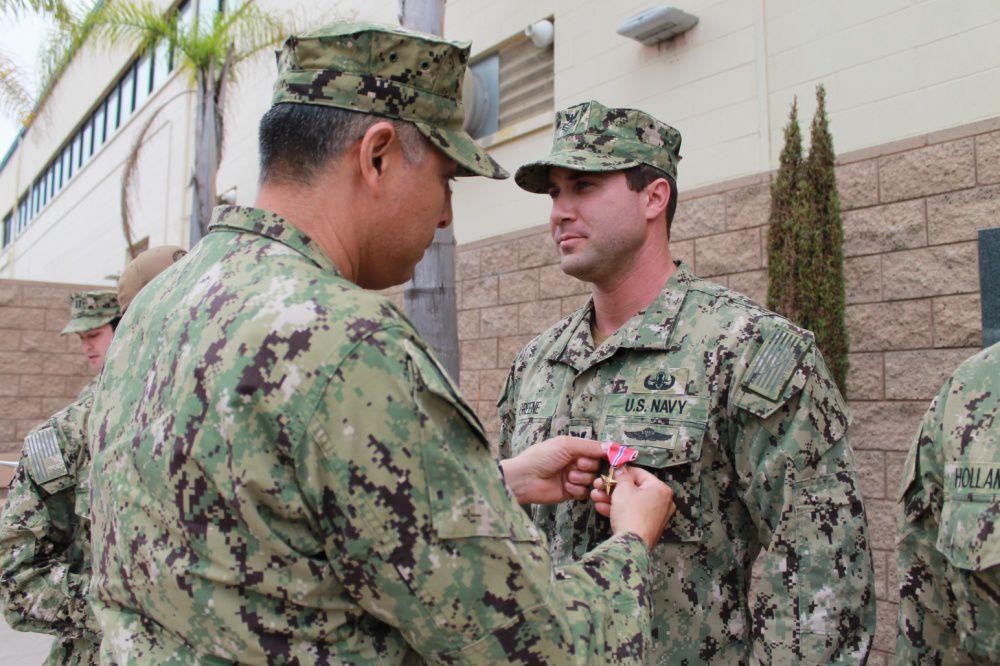 Explosive Ordnance Disposal Mobile Unit Eleven Sailors