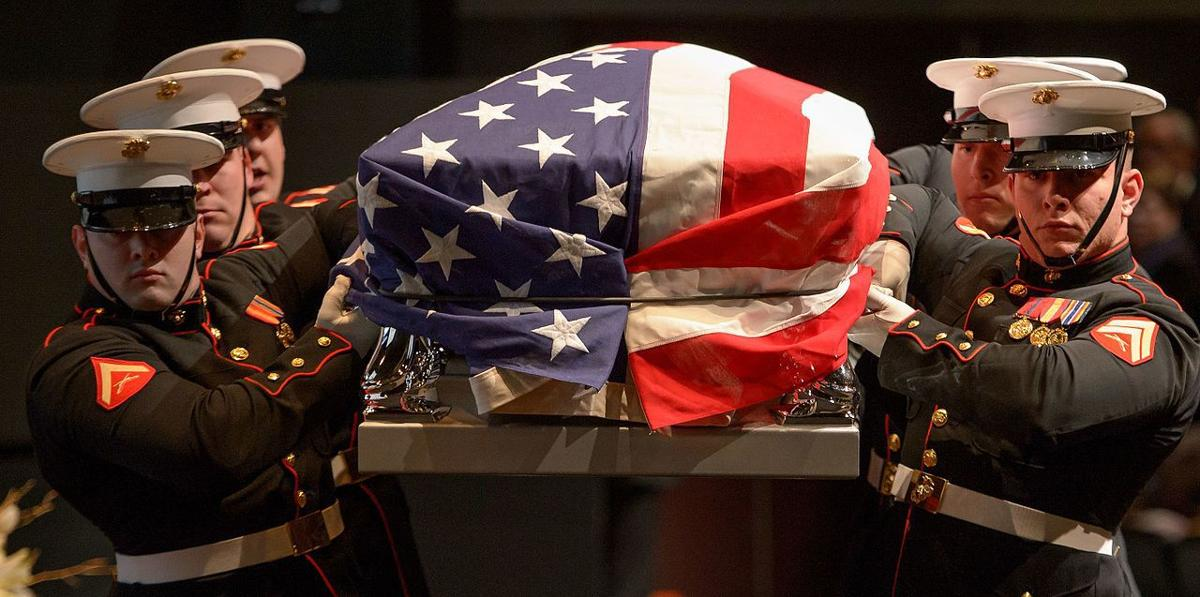 Funeral service for John Glenn: Marine vet, astronaut ...