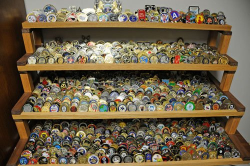 Navy Lieutenant Boasts More Than 1 800 Coins In Military