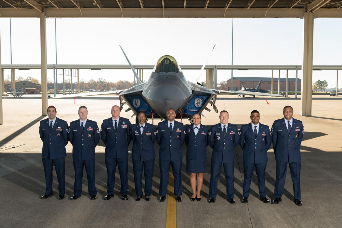 Virginia Air National Guard recruiting and retention group photo