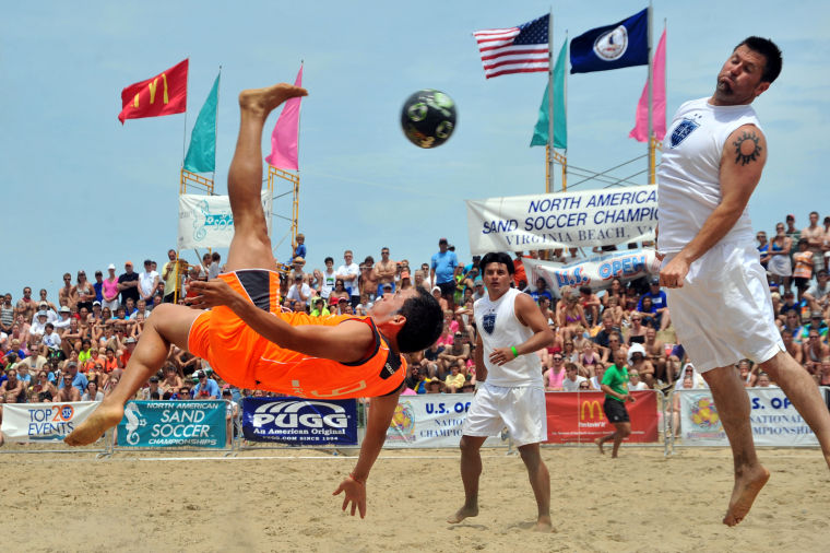 Sand Soccer Festival Coming To Virginia Beach Oceanfront