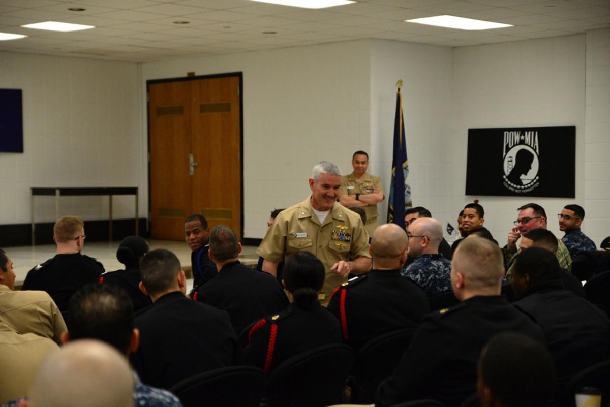 Swosu Great Lakes Hosts Ldo Cwo Program Quarterdeck Militarynews Com