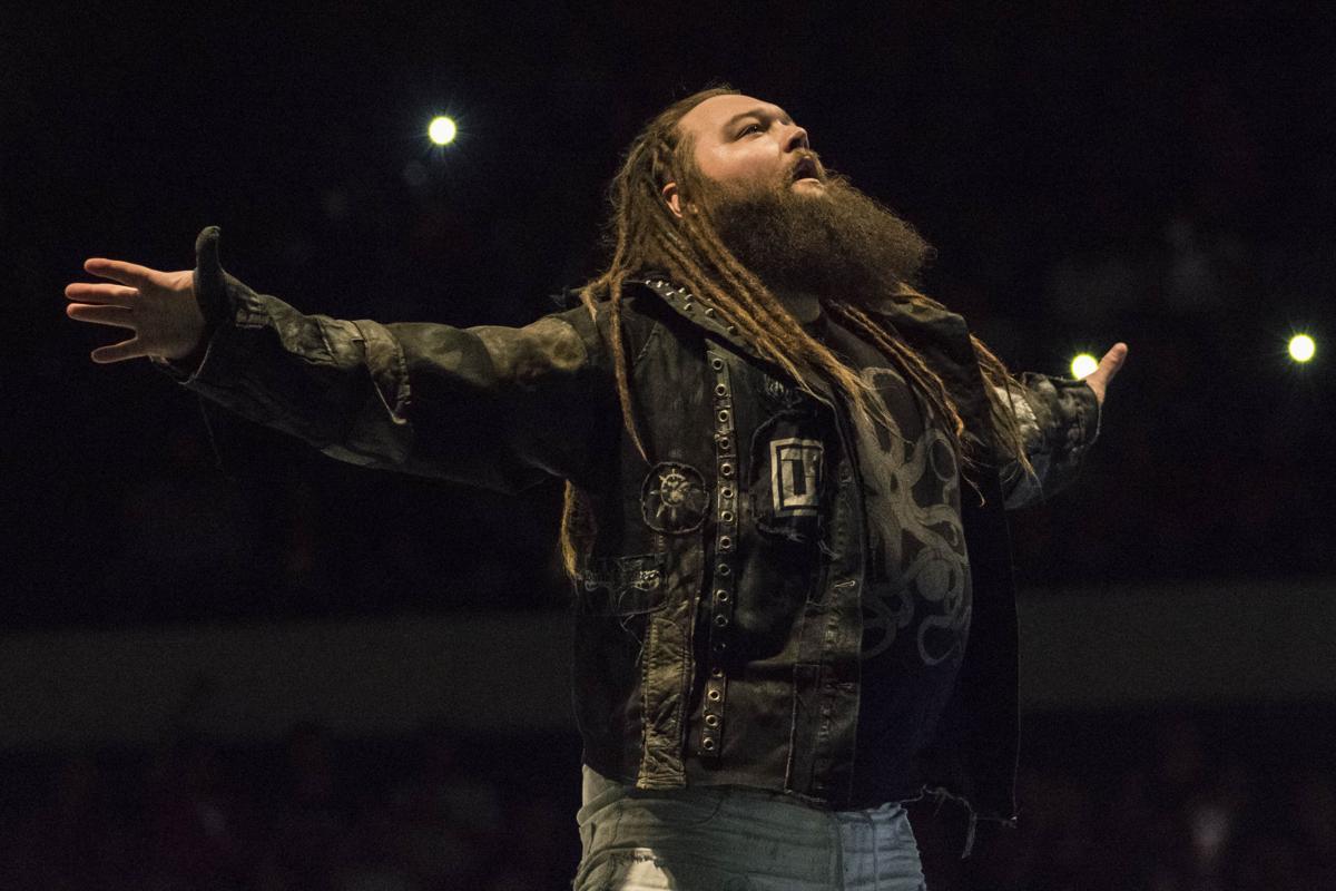 WWE Superstar Bray Wyatt at a recent WWE Live event in Hampton.