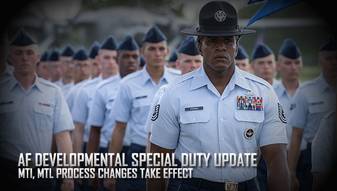 AETC Announces Changes to Developmental Special Duty