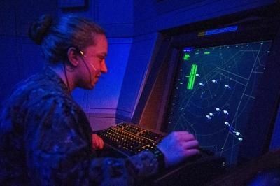NAS Oceana Air Traffic Control
