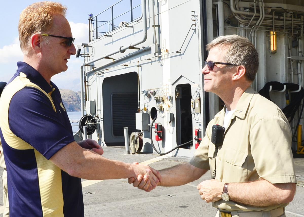 Under Secretary of the Navy visits Naval Support Activity