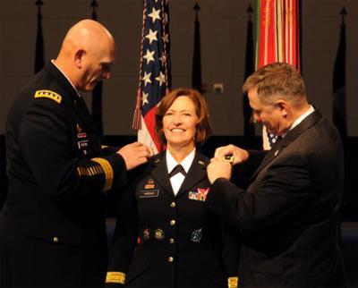 Horoho takes oath as first nurse, female surgeon general