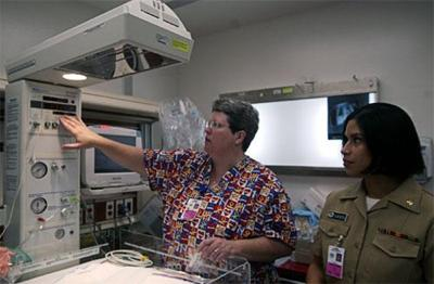 Naval hospital's new birth wing more efficient for staff, secure and comfortable for patients