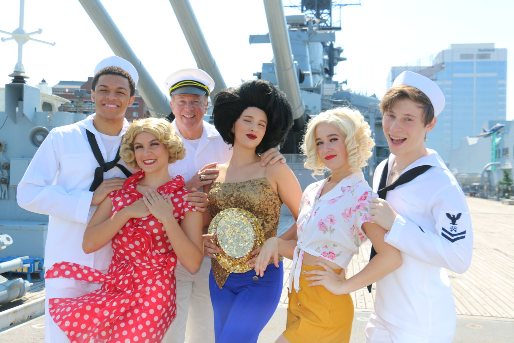 Hurrah Players Broadway Musical Dames At Sea to be performed on the Battleship Wisconsin