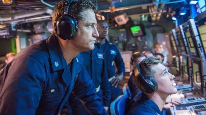 Navy, Gerard Butler collaborate to tell 21st Century Submarine Yarn