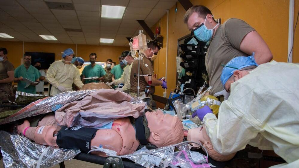 Navy surgical teams first to participate in Army's Strategic Trauma Readiness Center (STaRC) training