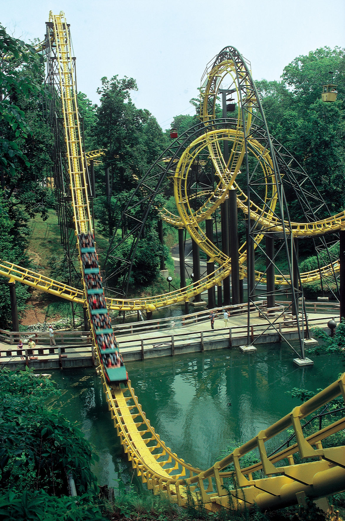 Busch Gardens Williamsburg Celebrates 40th Anniversary Of Nostalgic Roller Coaster On Liberty