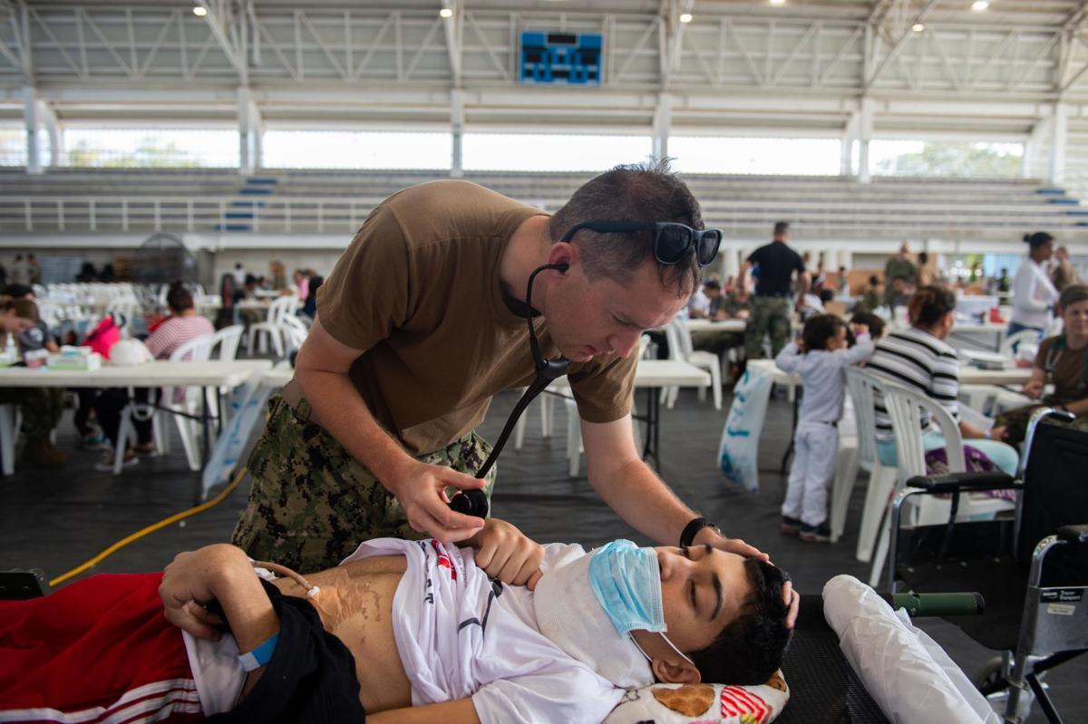 USNS Comfort Provides Medical Support