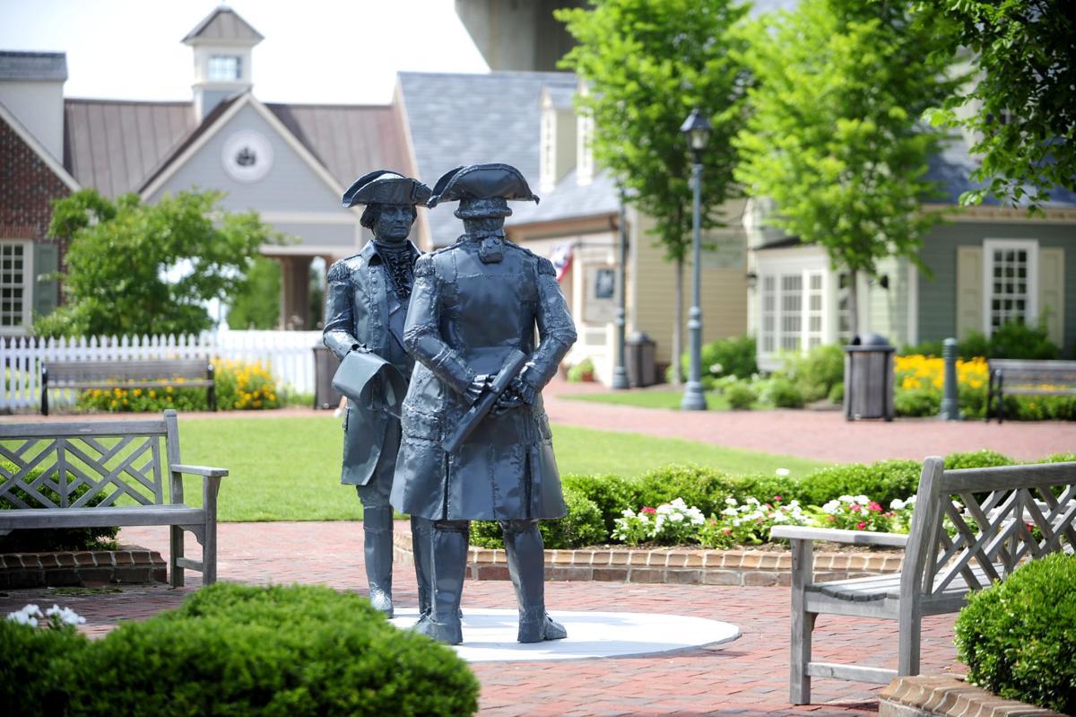 Gen. Washington and Admiral De Grasse in Yorktown