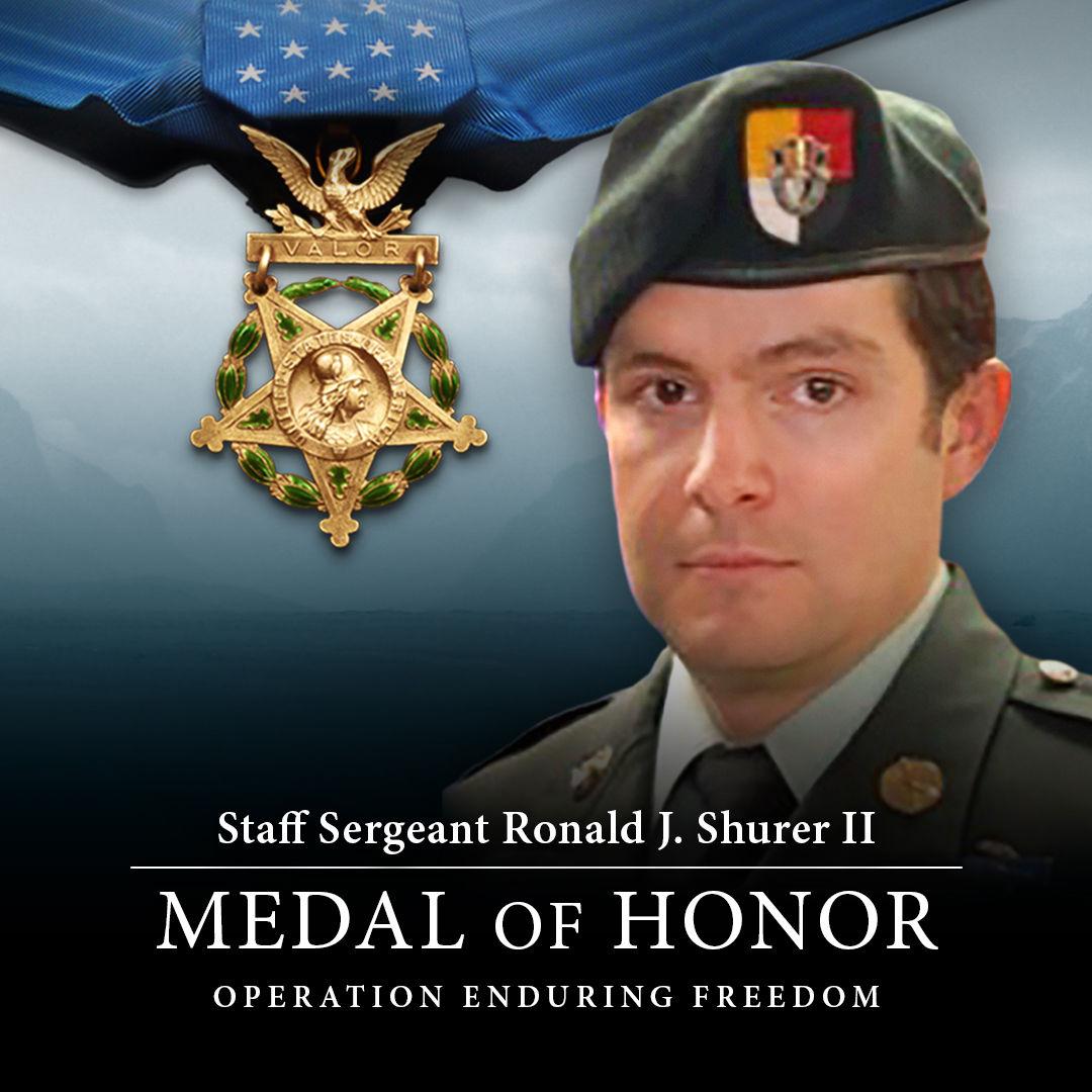 Medic receives Medal of Honor for valor in Afghanistan