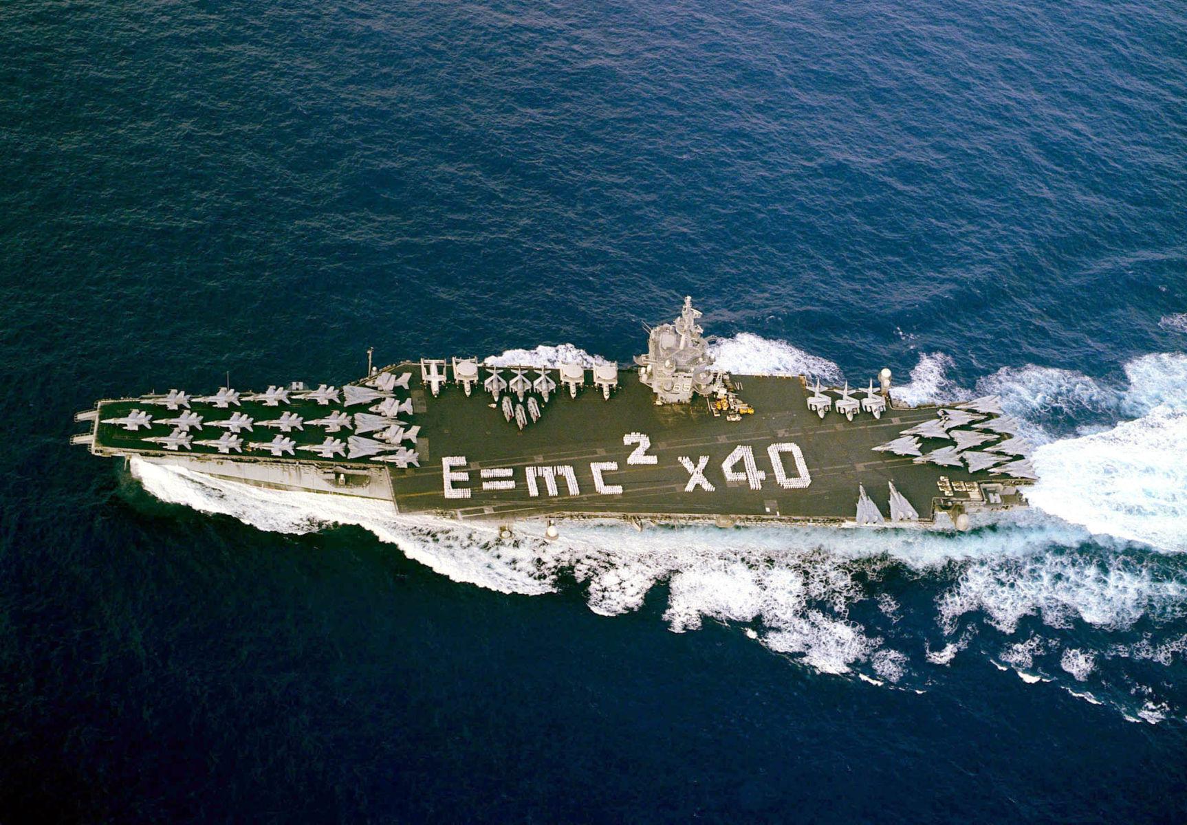 USN Navy USS ENTERPRISE CVAN 65  Naval Ship Photo Print