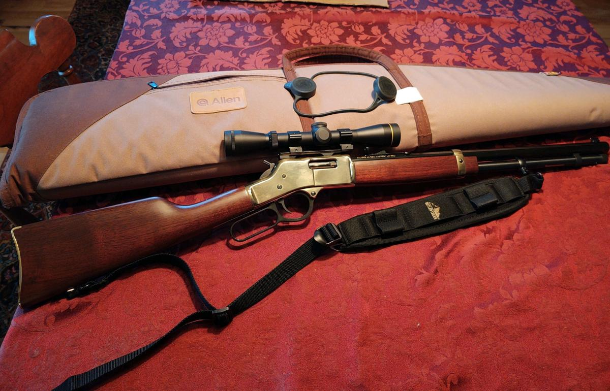 Henry Rifle For Sale image 1