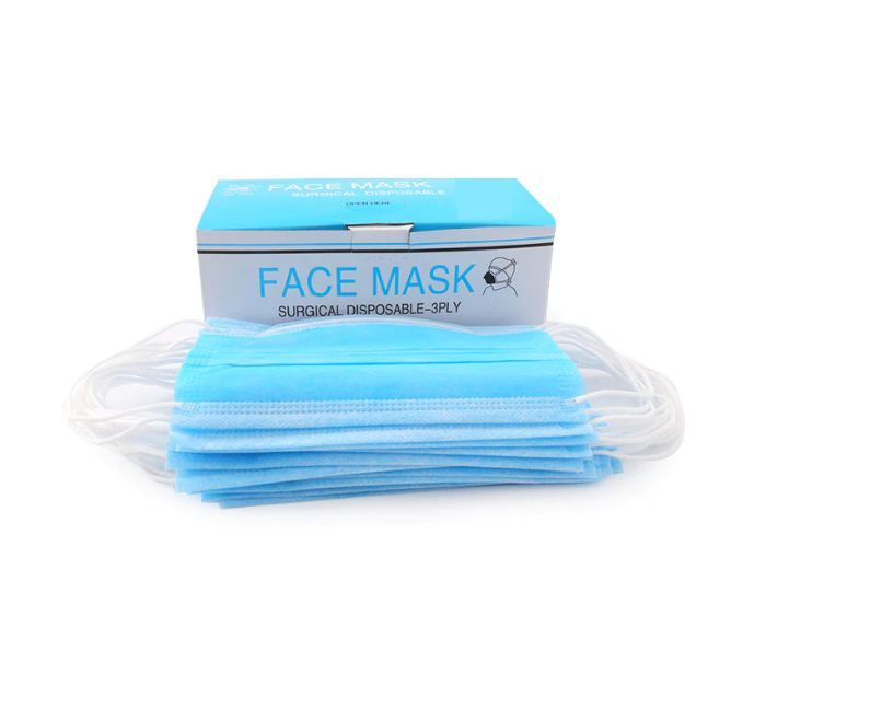 Wholesale Dentist 3Ply Earloop Disposable Face Masks Available image 1