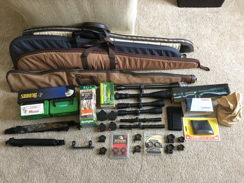 Various firearms and extras for sale image 1