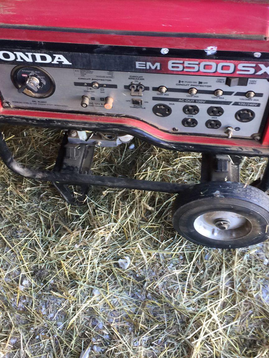 Honda EM6500SX Generator image 2